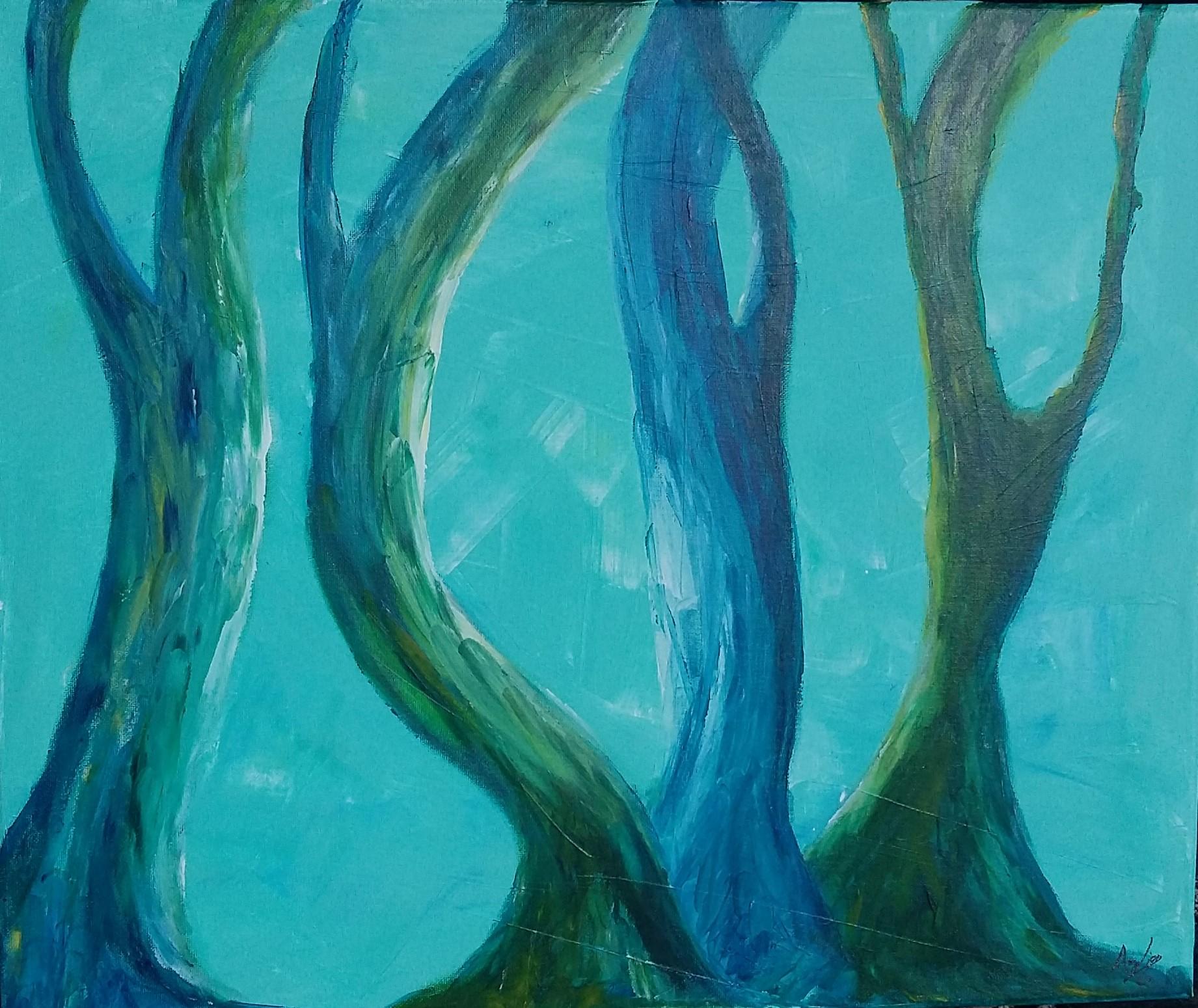 la danse des troncs