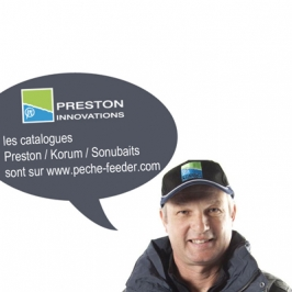 Catalogue Preston - Korum - Sonubaits